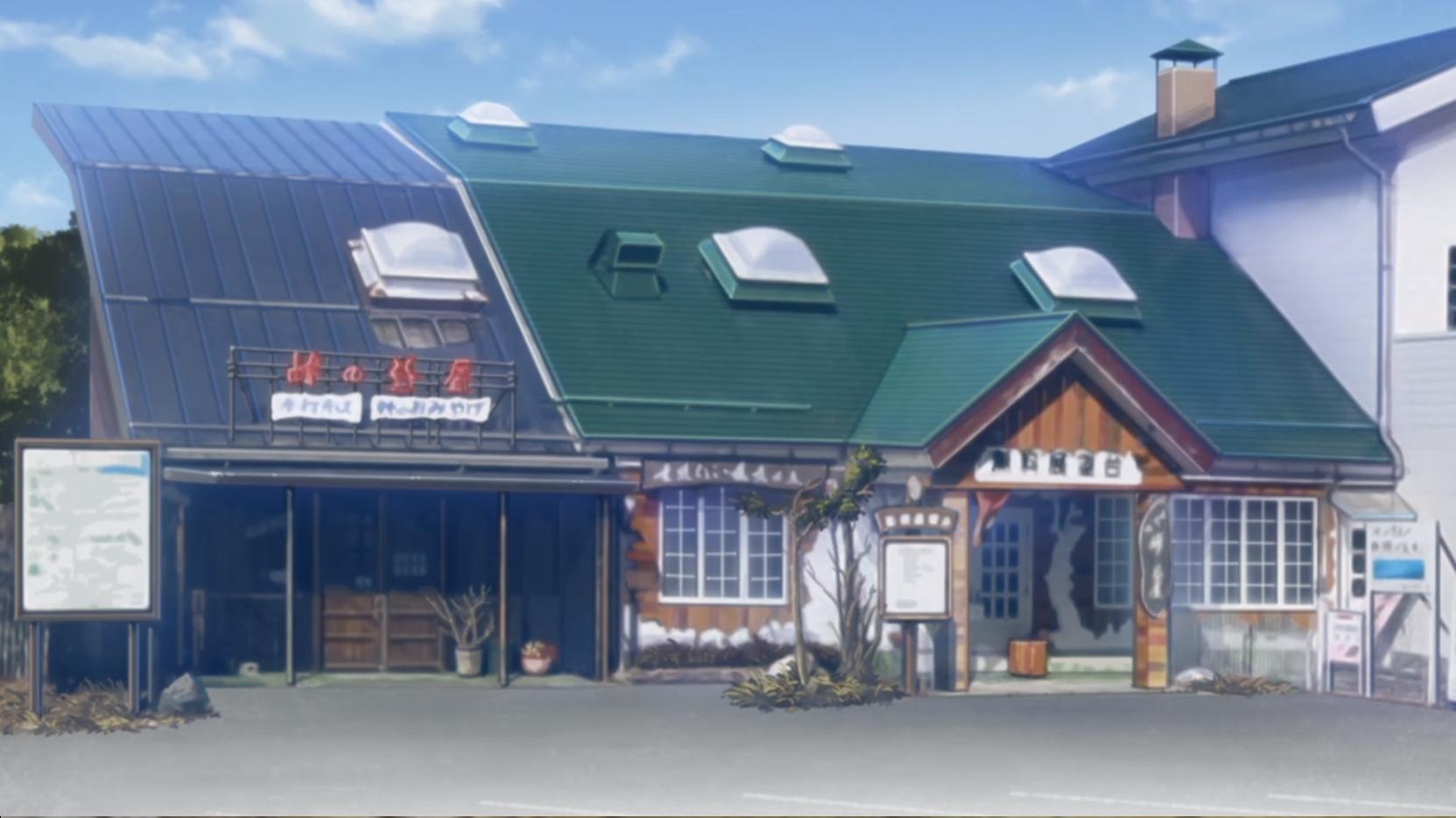 アニメ『ゆるキャン△』9話の諏訪湖の南の杖突峠