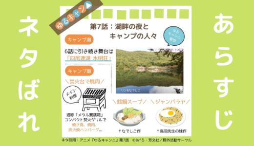 ゆるキャン△(アニメ第7話)のあらすじと見どころネタバレ解説