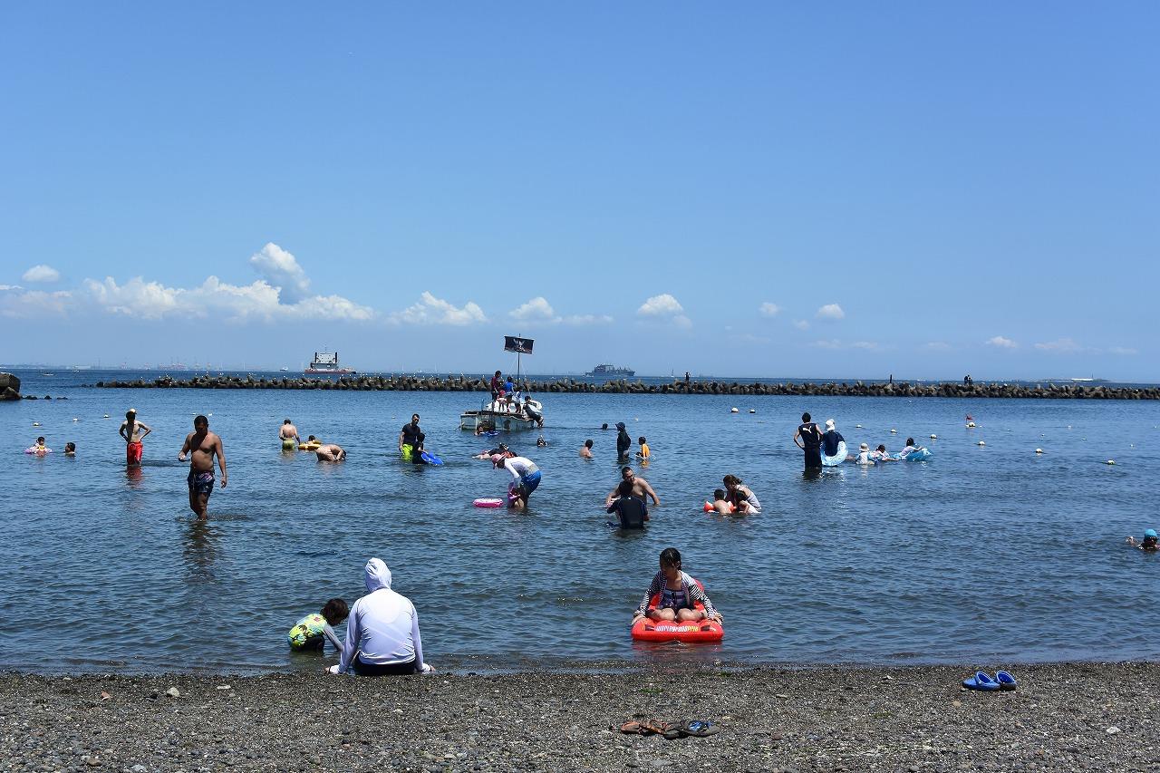 【神奈川】子どもたちが大喜びする横須賀の穴場海水浴場はここ!