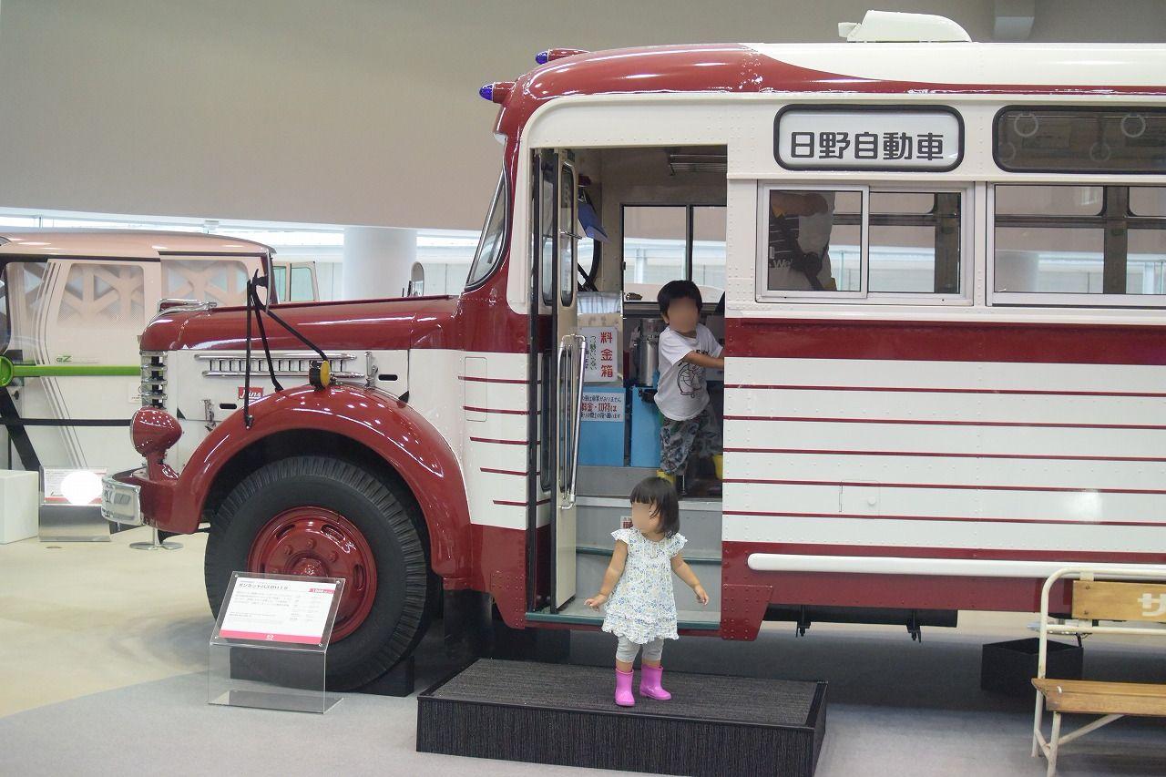 【東京】日野オートプラザで子供大喜び!無料で遊べるし車好きっ子にはたまらない場所だよ