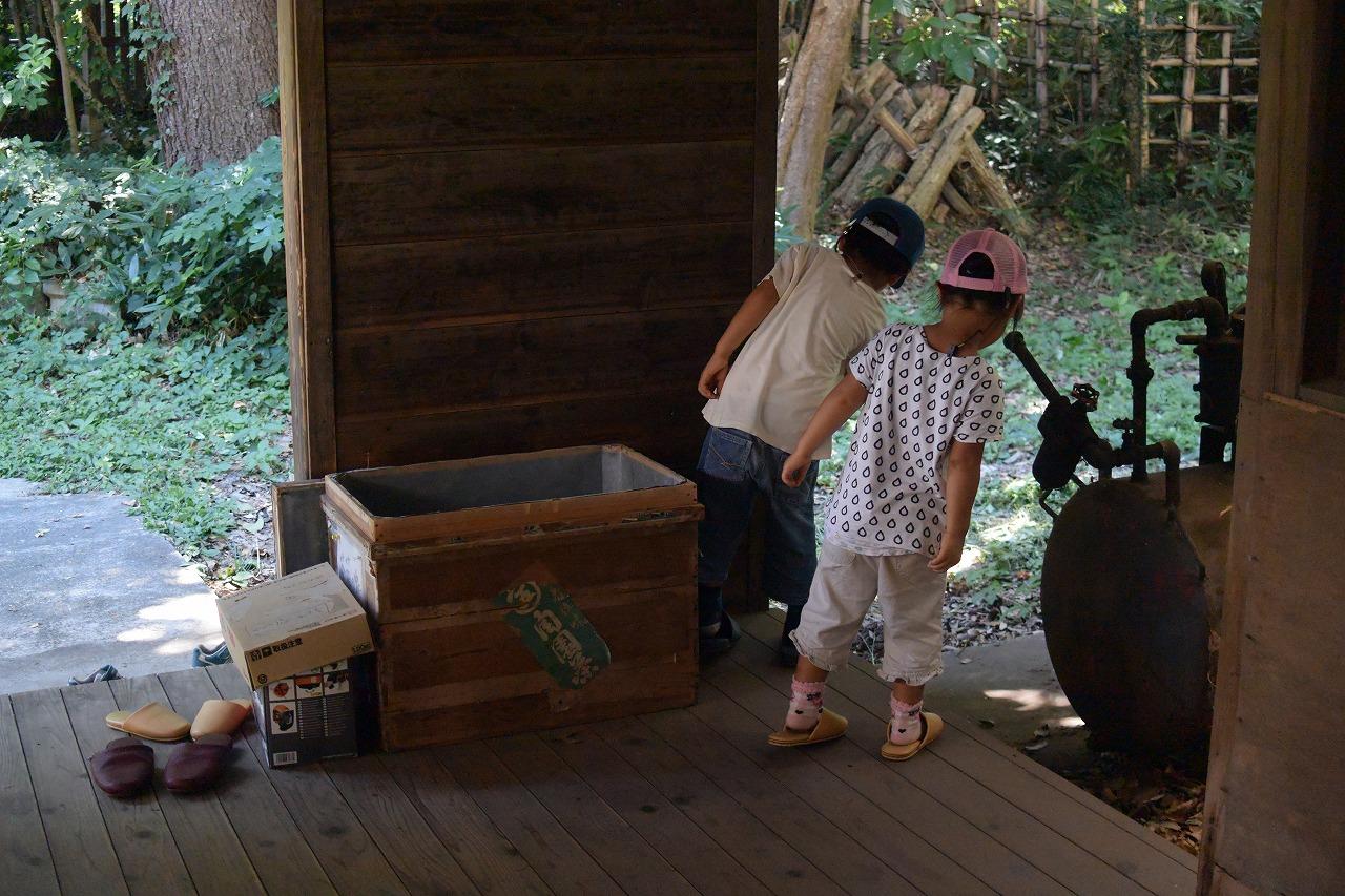 トトロのふるさとクロスケの家の茶工場
