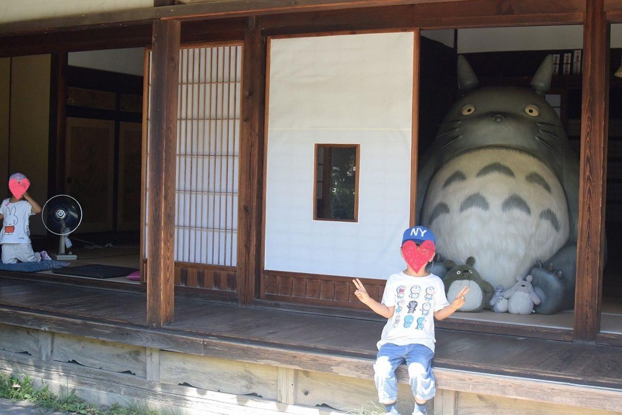 トトロのふるさとクロスケの家の母屋