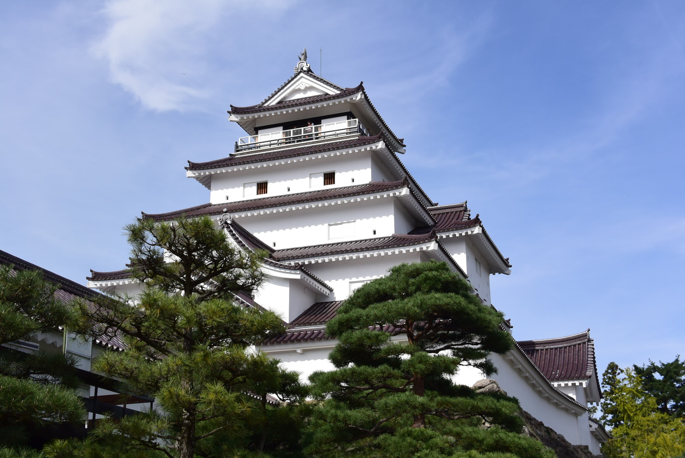 秋山浜キャンプ場の後は鶴ヶ城と喜多方ラーメンで初福島を満喫!