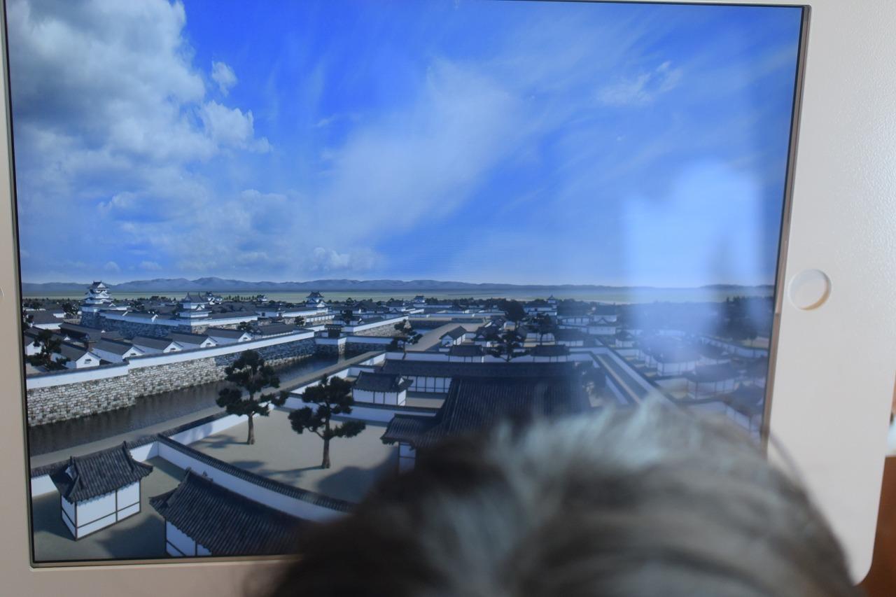 尼崎城5階展望ゾーン