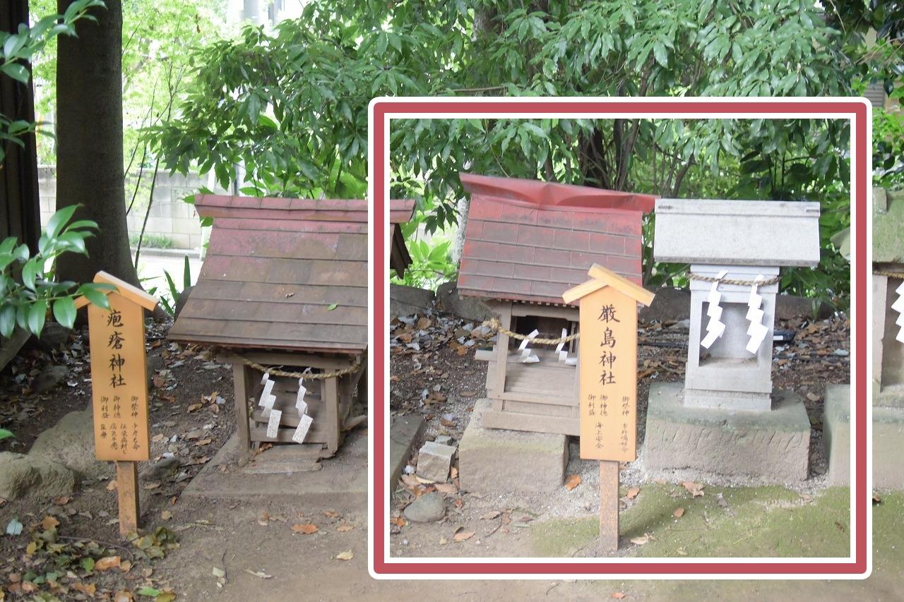 川越氷川神社の厳島神社