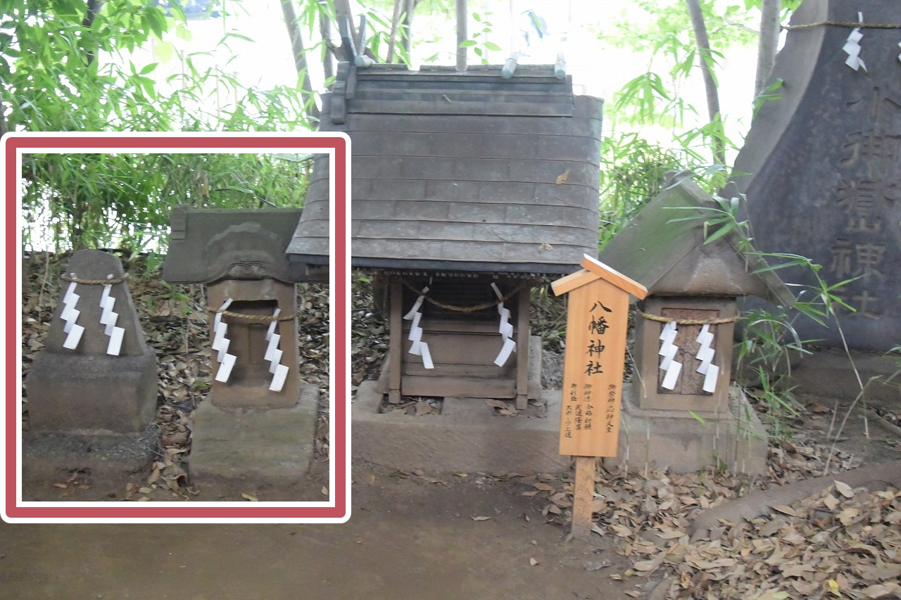 川越氷川神社の馬頭観音