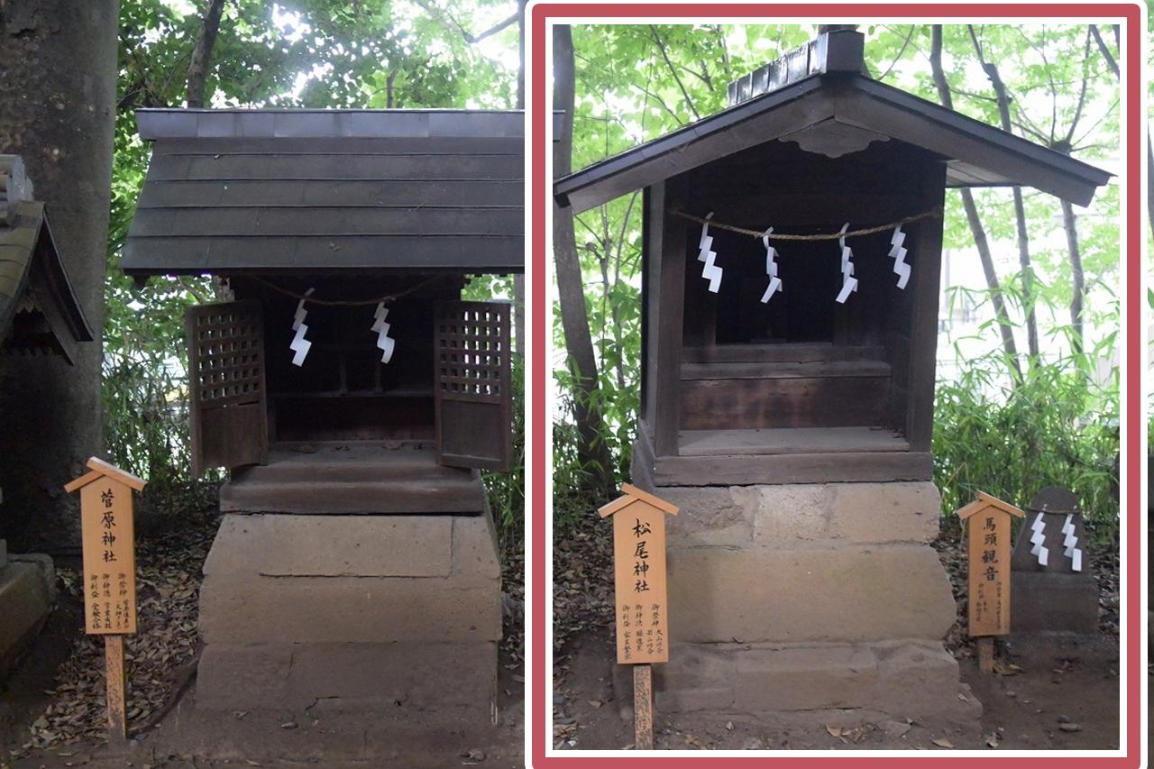 川越氷川神社の松尾神社