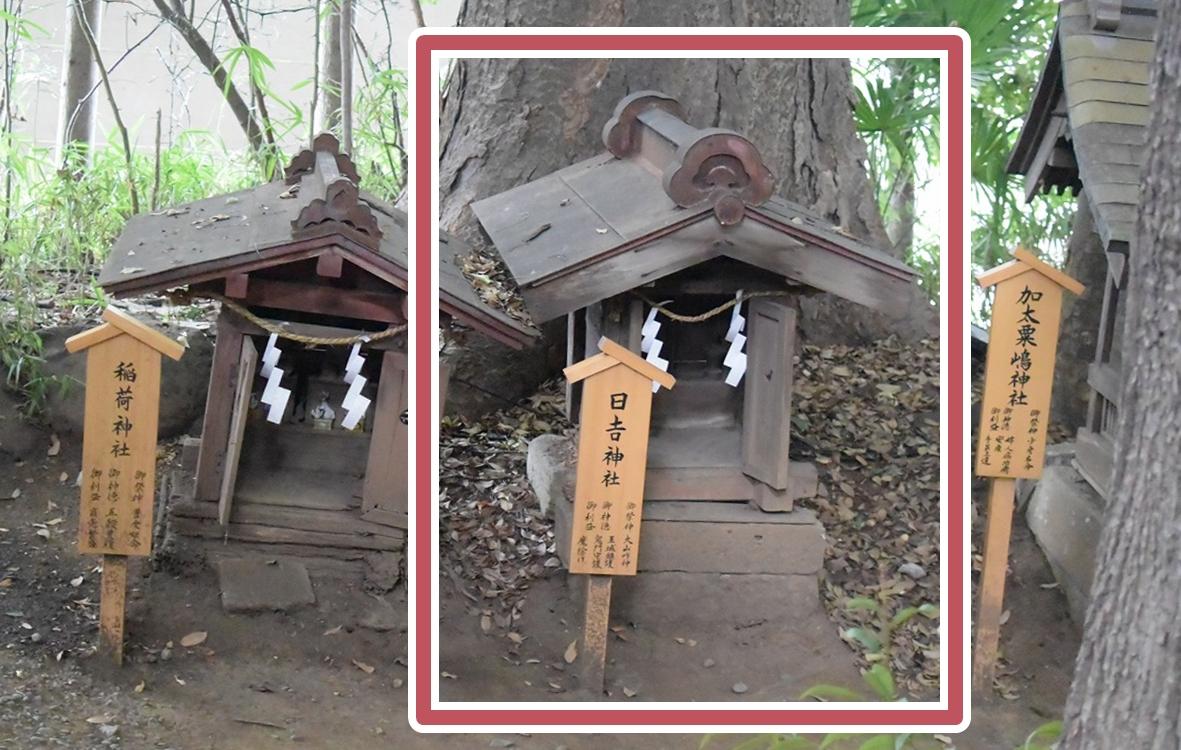 川越氷川神社の日吉神社