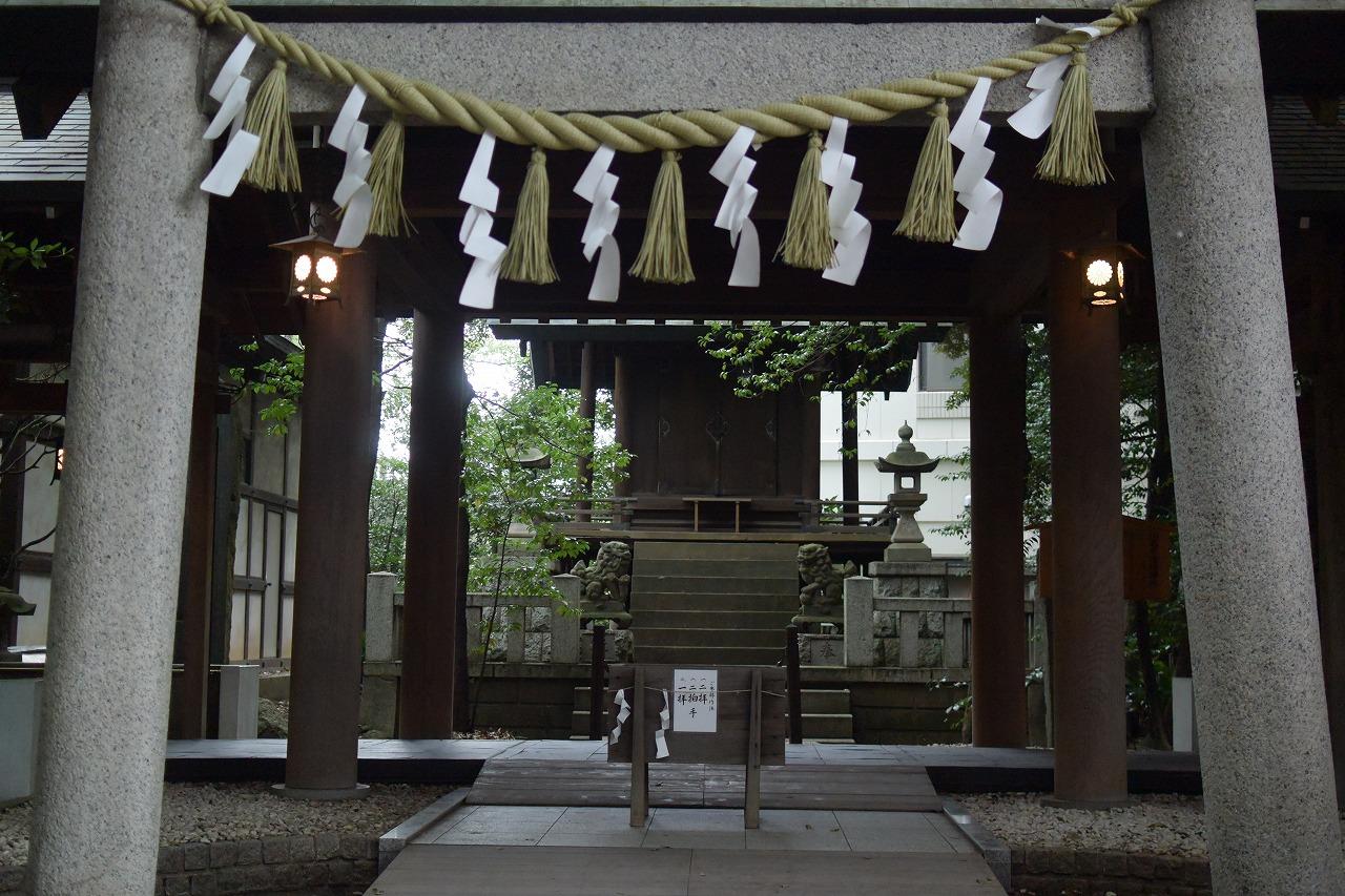 川越氷川神社の護国神社