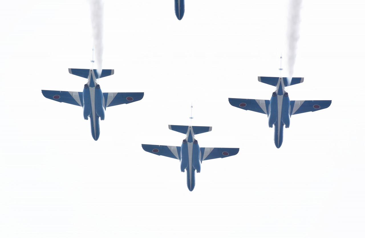 入間基地航空祭2019年ブルーインパルス課目(フェニックス・ローパス)