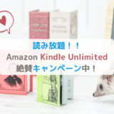 Amazon Kindle Unlimited絶賛キャンペーン中
