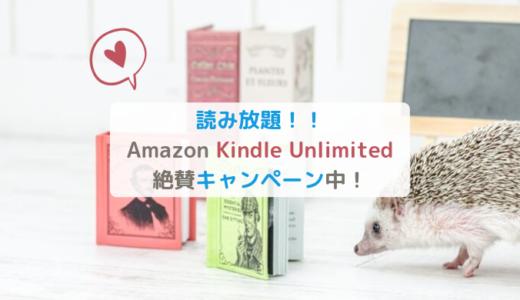 Kindle Unlimited絶賛キャンペーン中!今登録で2ヶ月無料&3ヶ月299円【Amazon】