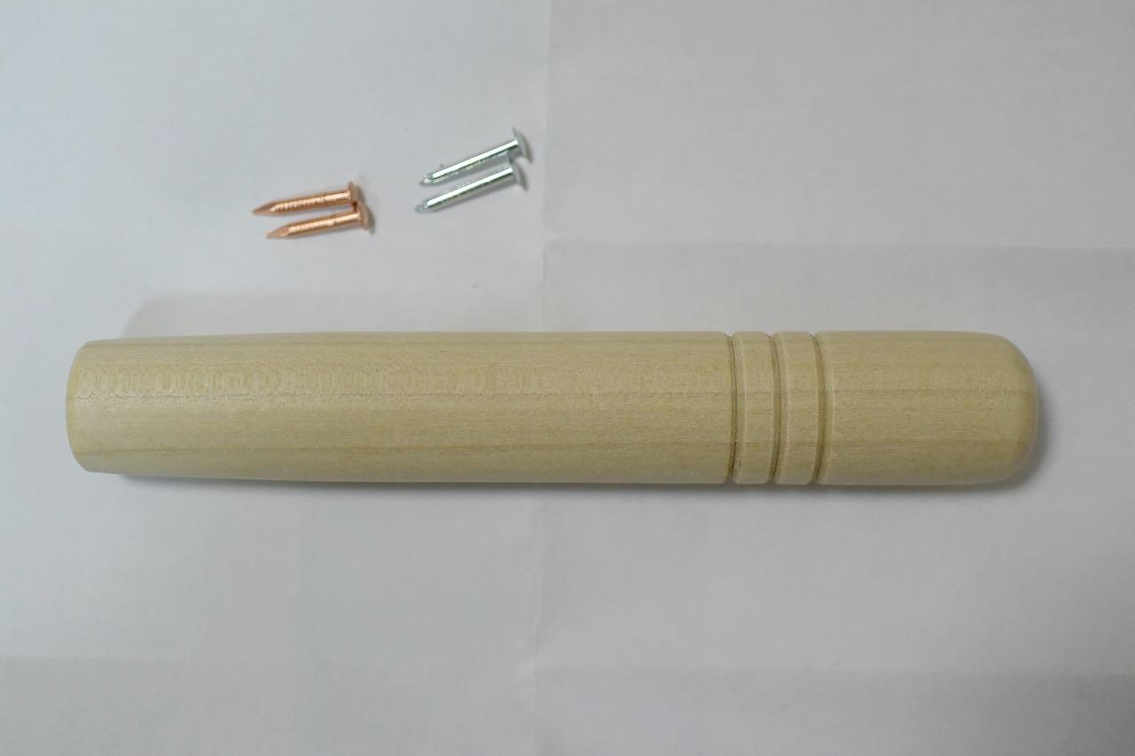 銅の卵焼き器の「中村銅器製作所」さんから送られてきた「持ち手」