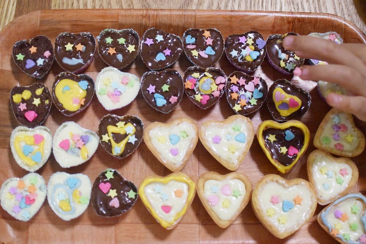バレンタイン子供手作り簡単レシピ