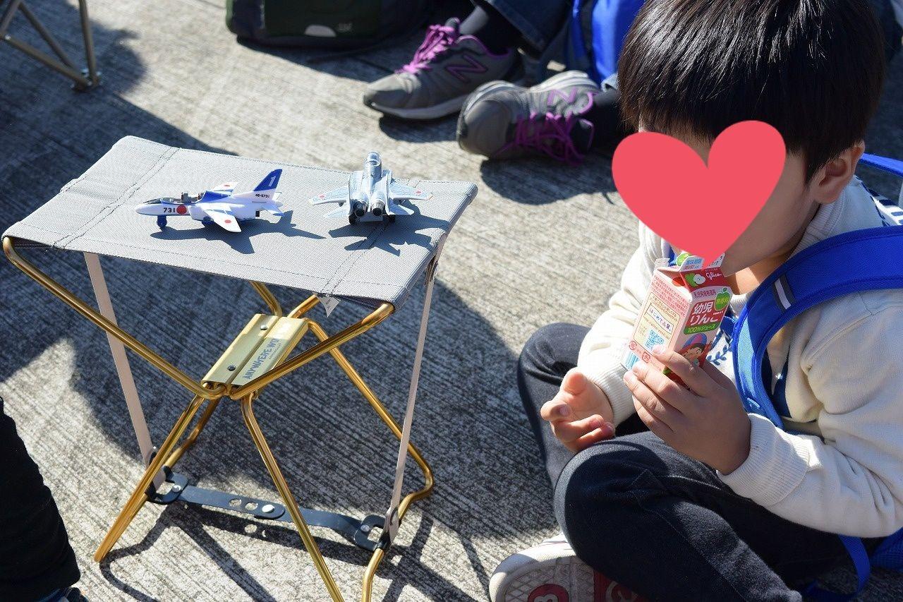 入間航空祭であると便利な折り畳み椅子