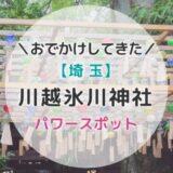 川越氷川神社のご利益がすごい!「縁結び」だけじゃないんだよ~!!