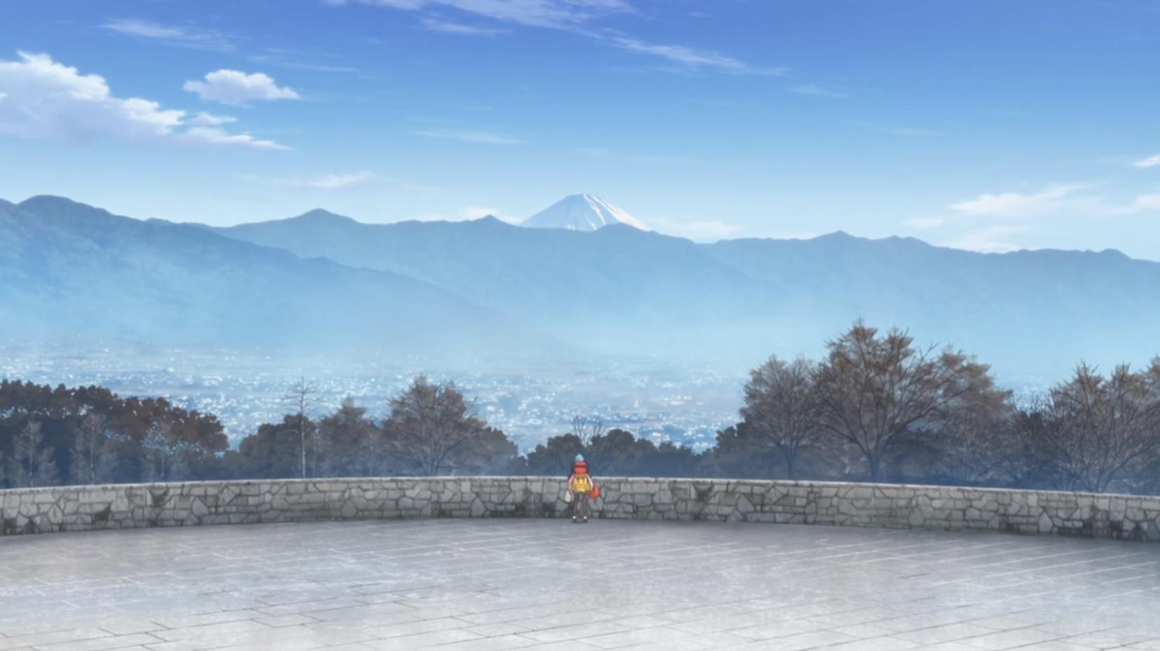 アニメ『ゆるキャン△』4話の「笛吹公園」こと「笛吹川フルーツ公園」