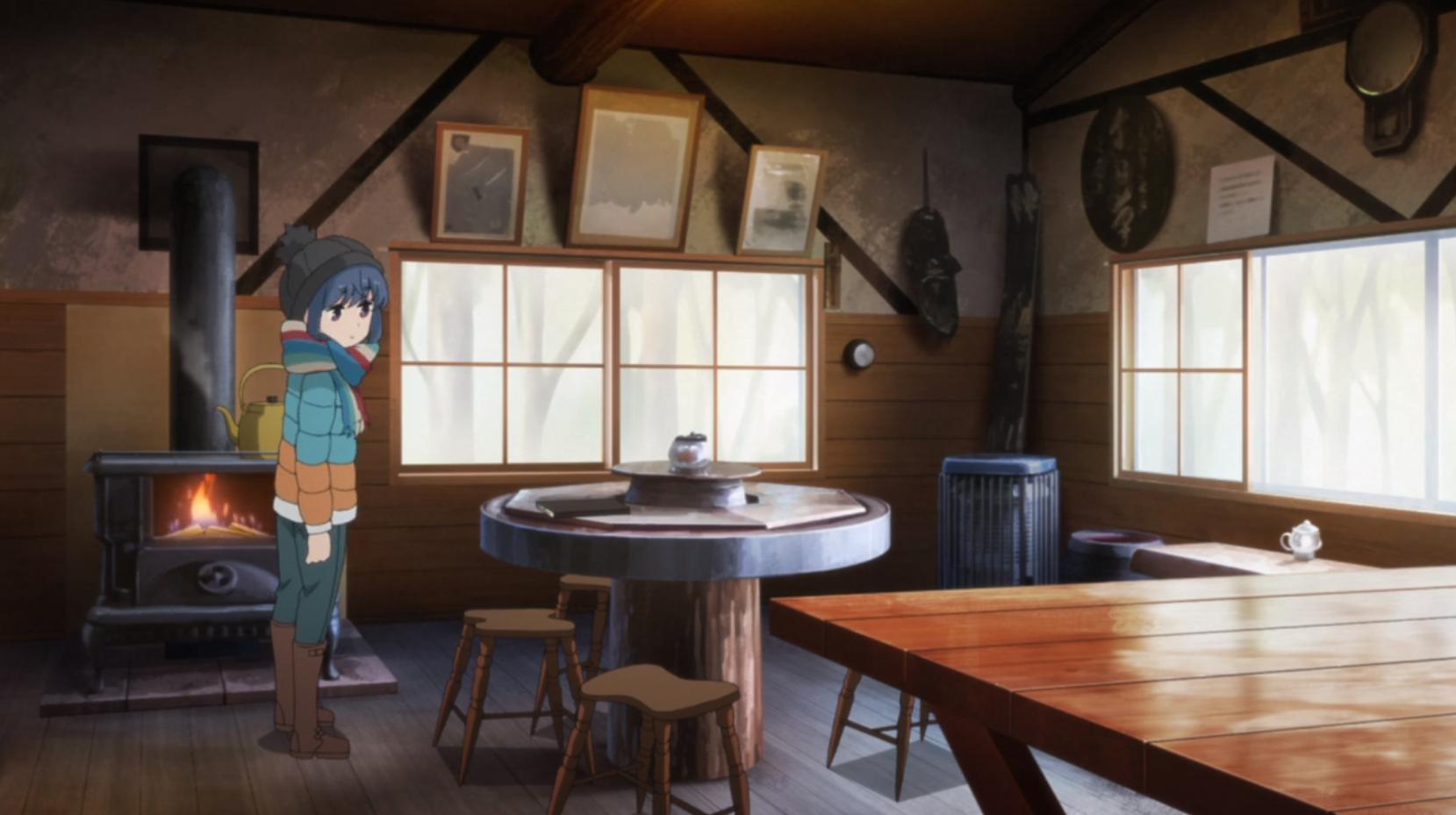 アニメ『ゆるキャン△』4話「ころぼっくるひゅって」