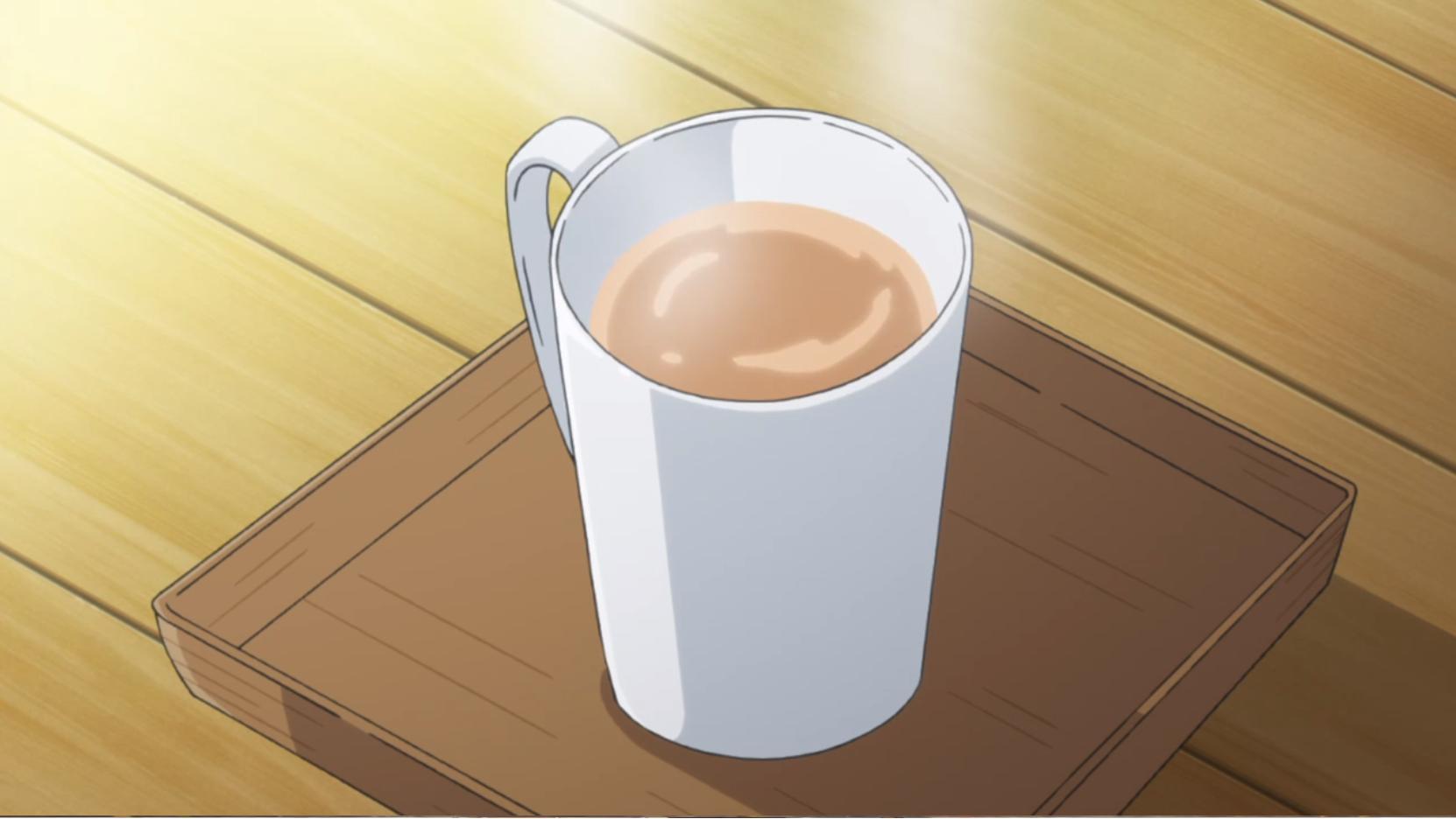 アニメ『ゆるキャン△』6話で志摩リンとなでしこが来たキャンプ場のホットチャイ