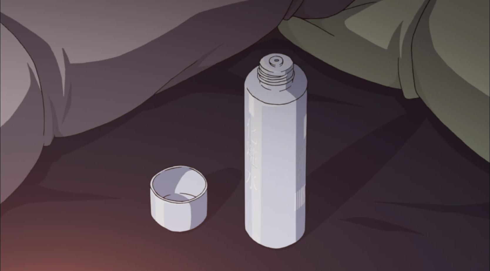 アニメ『ゆるキャン△』7話 の焚火は乾燥するから化粧水をつけましょう