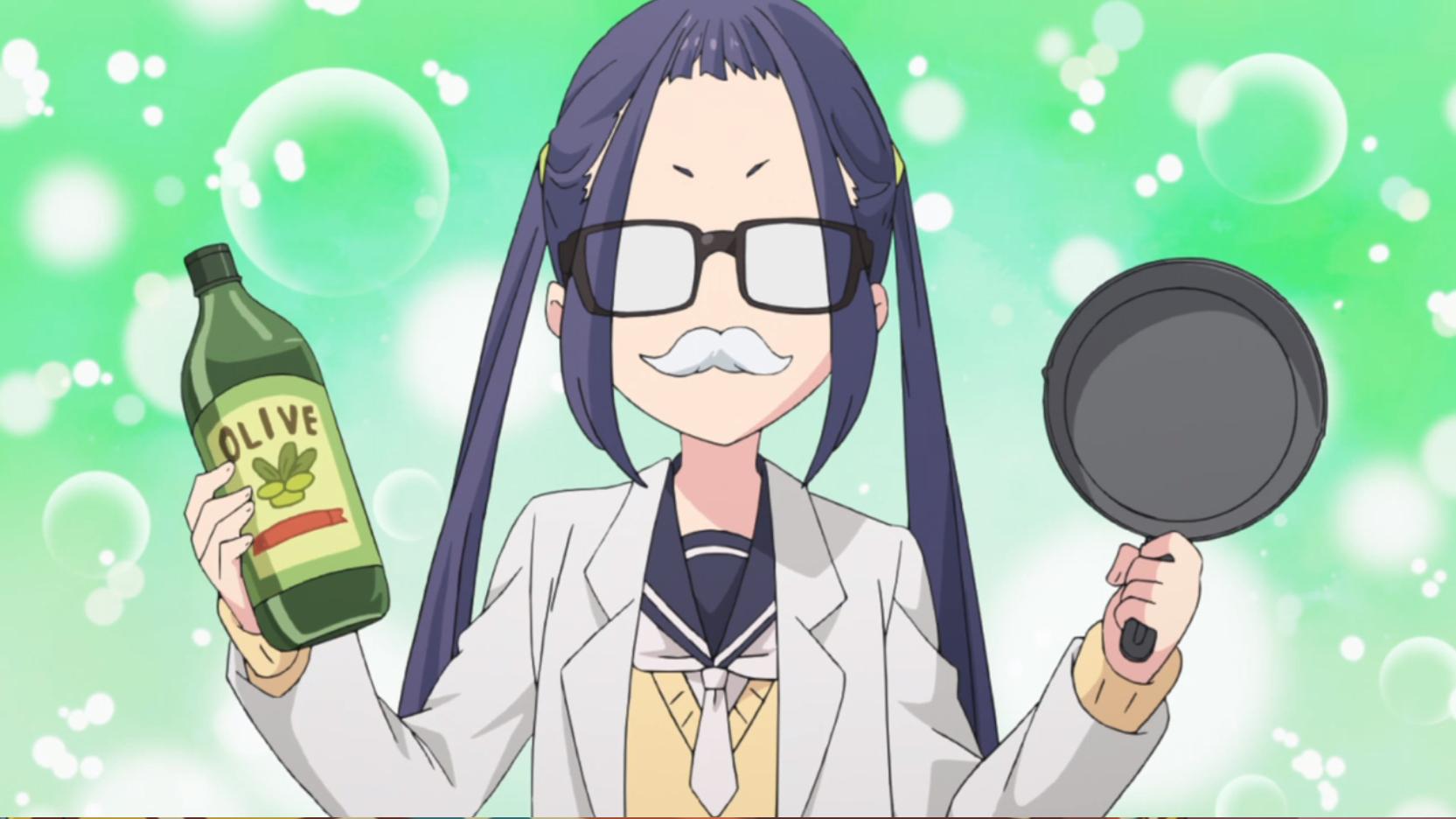 アニメ『ゆるキャン△』8話のスキレット鉄鍋のシーズニング