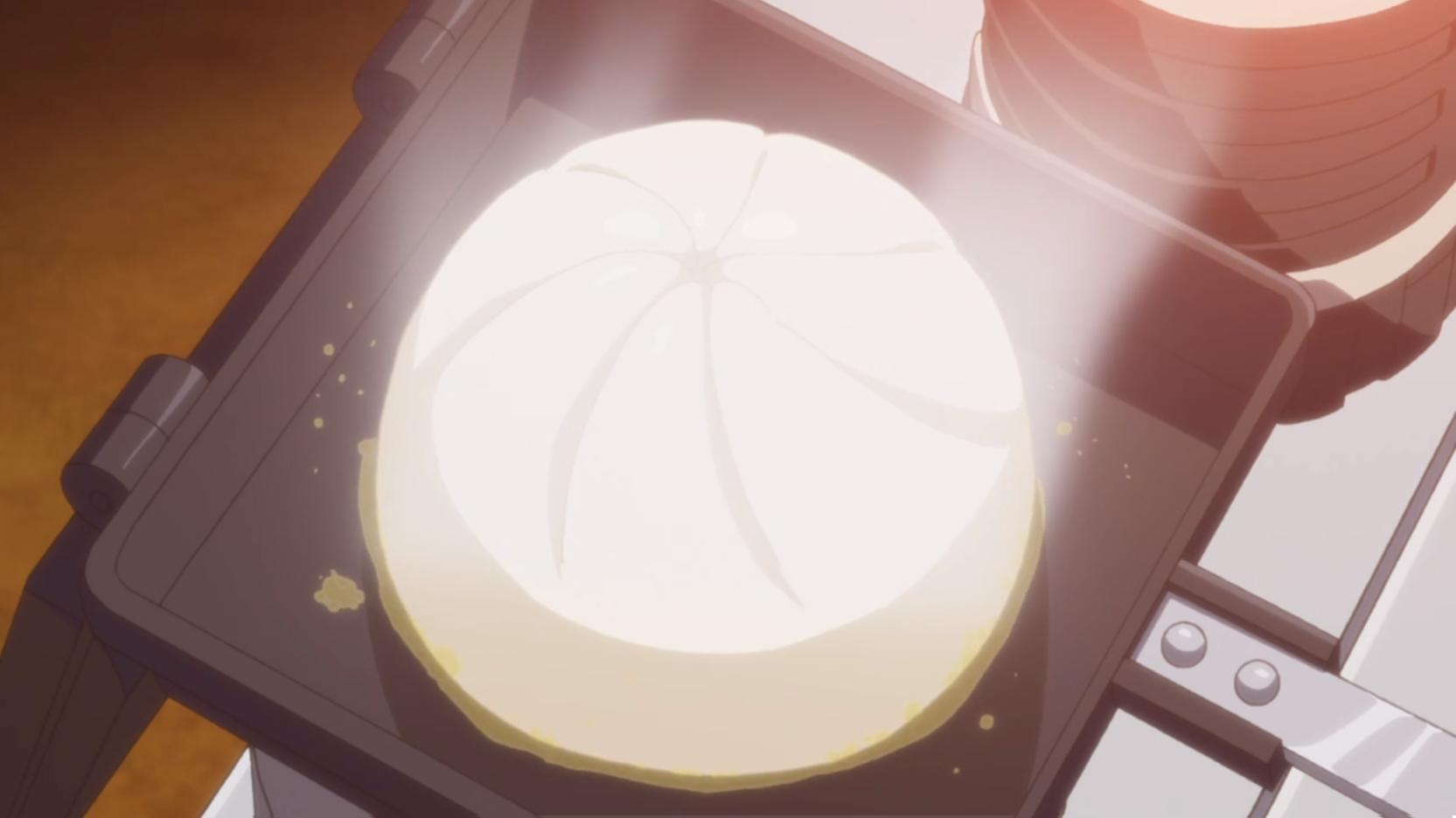 アニメ『ゆるキャン△』10話の焼き豚まん